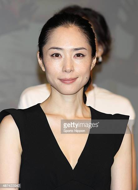 Actress Eri Fukatsu attends the 'Egg' Press conference on July 20 2012 in Tokyo Japan