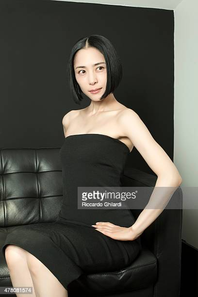 Actress Eri Fukatsu is photographed for Self Assignment on May 2015 in Cannes France
