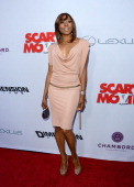 Actress Erica Ash arrives at the Dimension Films' 'Scary Movie 5' premiere at the ArcLight Cinemas Cinerama Dome on April 11 2013 in Hollywood...
