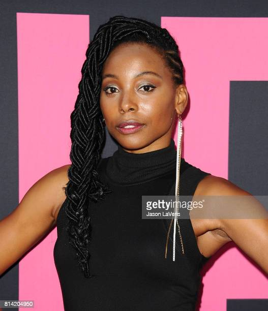Actress Erica Ash attends the premiere of 'Girls Trip' at Regal LA Live Stadium 14 on July 13 2017 in Los Angeles California