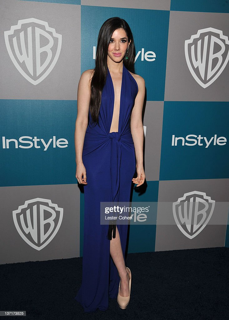 Actress Erica Dasher arrives at the 13th Annual Warner Bros. and InStyle Golden Globe After Party held at The Beverly Hilton hotel on January 15, 2012 in Beverly Hills, California.