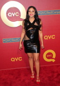 Actress Erica Hubbard attends the QVC 5th Annual Red Carpet Style event at The Four Seasons Hotel on February 28 2014 in Beverly Hills California