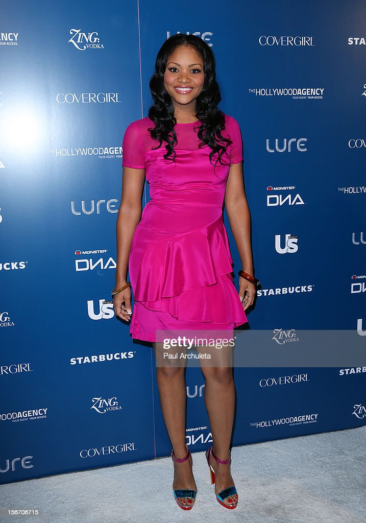 Actress Erica Hubbard attends US Weekly Magazine's AMA after party at Lure on November 18, 2012 in Hollywood, California.