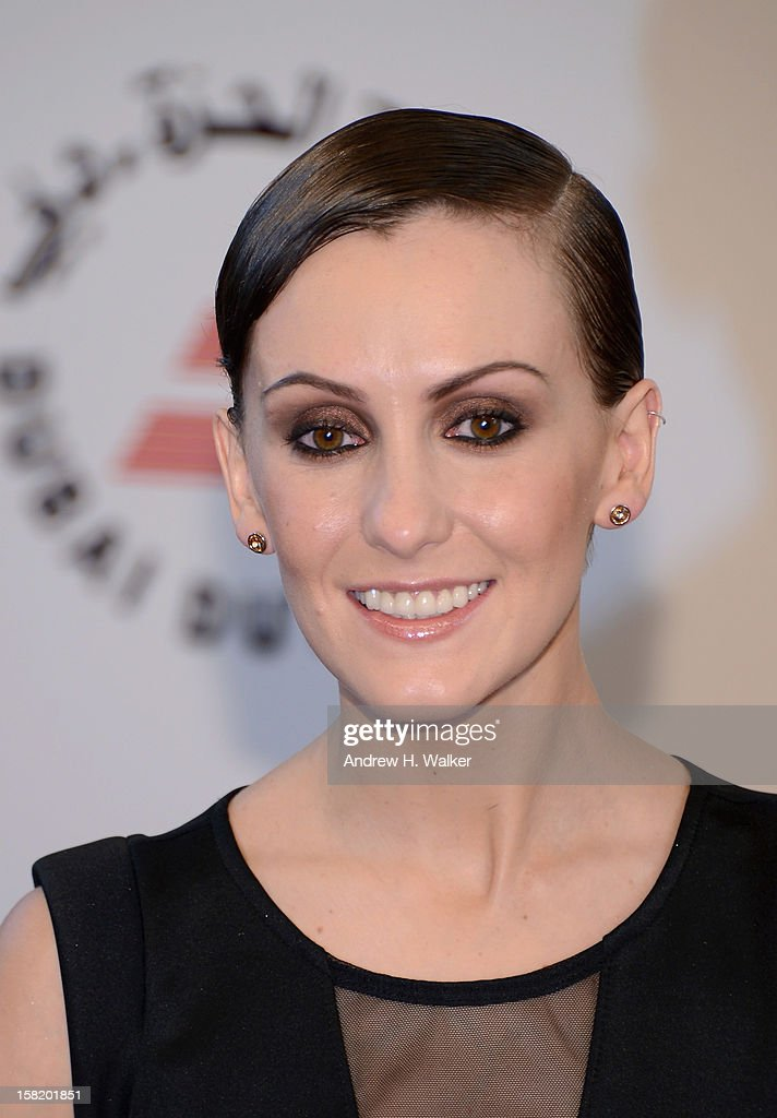 Actress Erica Linz attends the 'Cirque du Soleil: Worlds Away 3D' premiere during day three of the 9th Annual Dubai International Film Festival held at the Madinat Jumeriah Complex on December 11, 2012 in Dubai, United Arab Emirates.