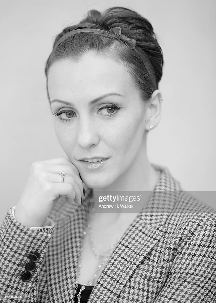 Actress Erica Linz during a portrait session on day three of the 9th Annual Dubai International Film Festival held at the Madinat Jumeriah Complex on December 11, 2012 in Dubai, United Arab Emirates.