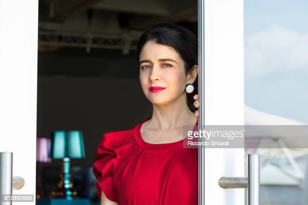 Actress Erica Rivas is photographed for Self Assignment on May 24 2017 in Cannes France