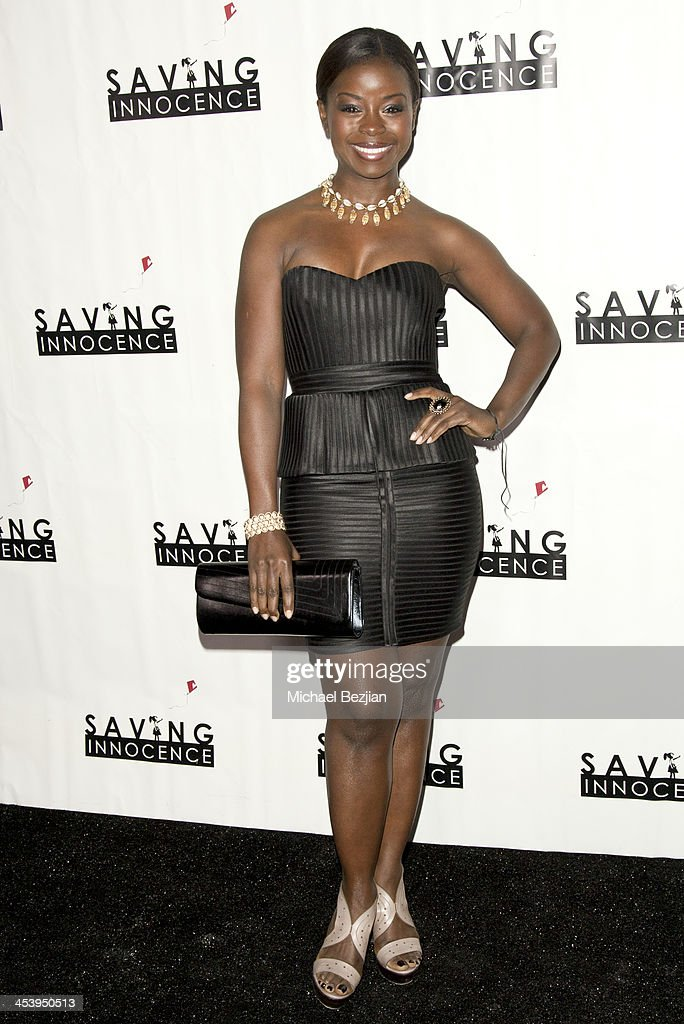 Actress Erica Tazel arrives at the 2nd Annual Saving Innocence Gala Hosted By Kellan Lutz And Keke Palmer - Arrivals at The Crossing on December 5, 2013 in Los Angeles, California.