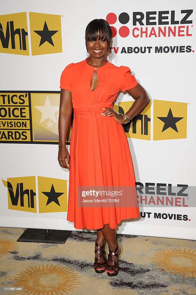 Actress Erica Tazel arrives at the Critics' Choice Television Awards at Beverly Hills Hotel on June 20, 2011 in Beverly Hills, California.