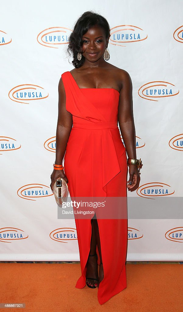 Actress Erica Tazel attends the 14th Annual Lupus LA Orange Ball at the Regent Beverly Wilshire Hotel on May 8, 2014 in Beverly Hills, California.