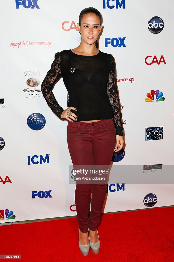 Actress Ericka Hunter attends the Junior Hollywood Radio & Television Society (JHRTS) Holiday Party at Boulevard3 on December 11, 2012 in Hollywood, California.