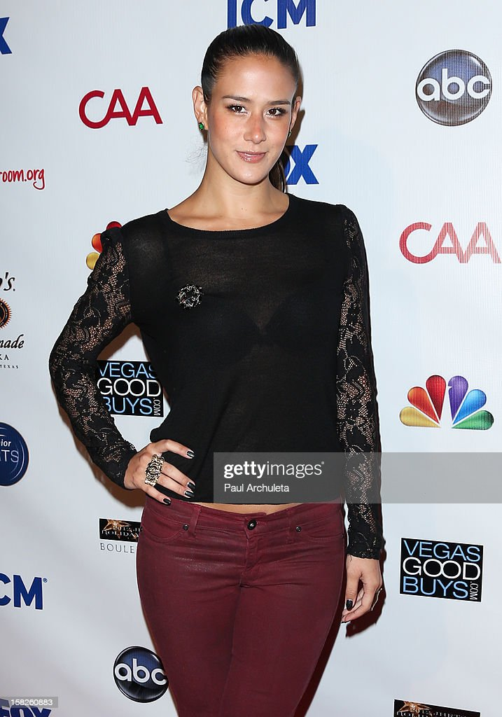 Actress Ericka Hunter attends the Junior Hollywood Radio & Television Society's 10th annual holiday party at Boulevard3 on December 11, 2012 in Hollywood, California.