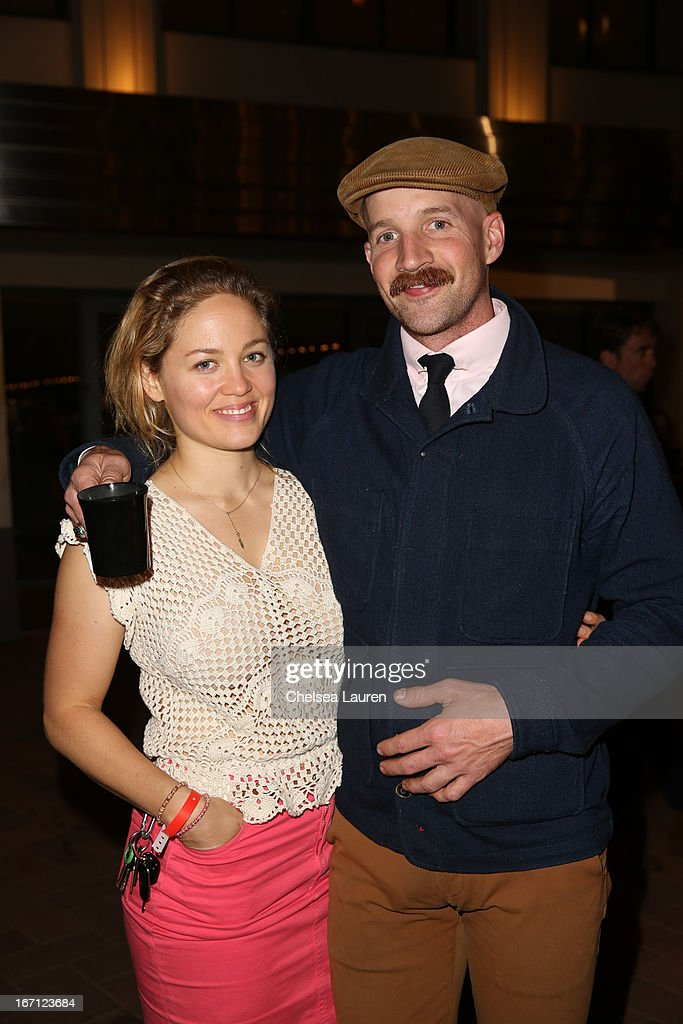 Actress <a gi-track='captionPersonalityLinkClicked' href=/galleries/search?phrase=Erika+Christensen&family=editorial&specificpeople=202168 ng-click='$event.stopPropagation()'>Erika Christensen</a> (L) and Cole Maness attend City Year Los Angeles' spring break: destination education at Sony Pictures Studios on April 20, 2013 in Culver City, California.