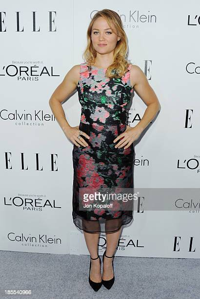 Actress Erika Christensen arrives at ELLE Celebrates 20th Annual Women In Hollywood Event at Four Seasons Hotel Los Angeles at Beverly Hills on...