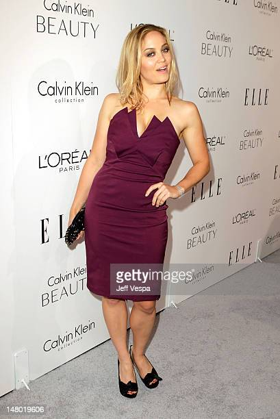 Actress Erika Christensen arrives at ELLE's 17th Annual Women in Hollywood Tribute at The Four Seasons Hotel on October 18 2010 in Beverly Hills...