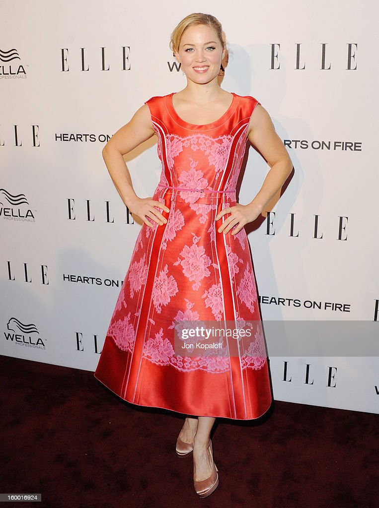 Actress Erika Christensen arrives at ELLE's 2nd Annual Women In TV Event at Soho House on January 24, 2013 in West Hollywood, California.
