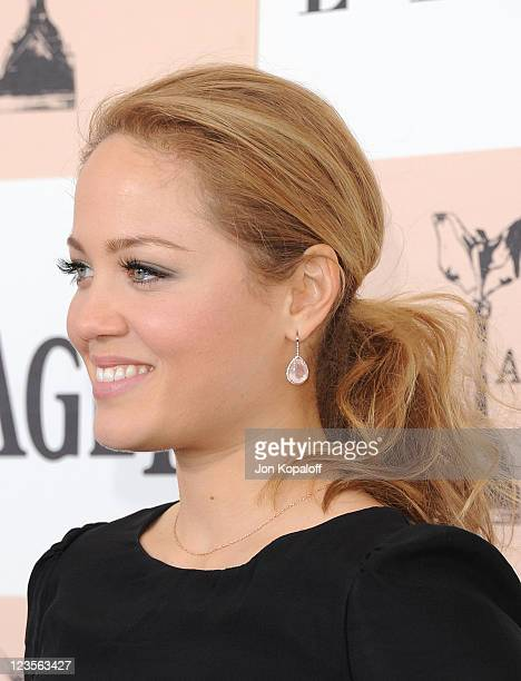 Actress Erika Christensen arrives at the 2011 Film Independent Spirit Awards held at Santa Monica Beach on February 26 2011 in Santa Monica California