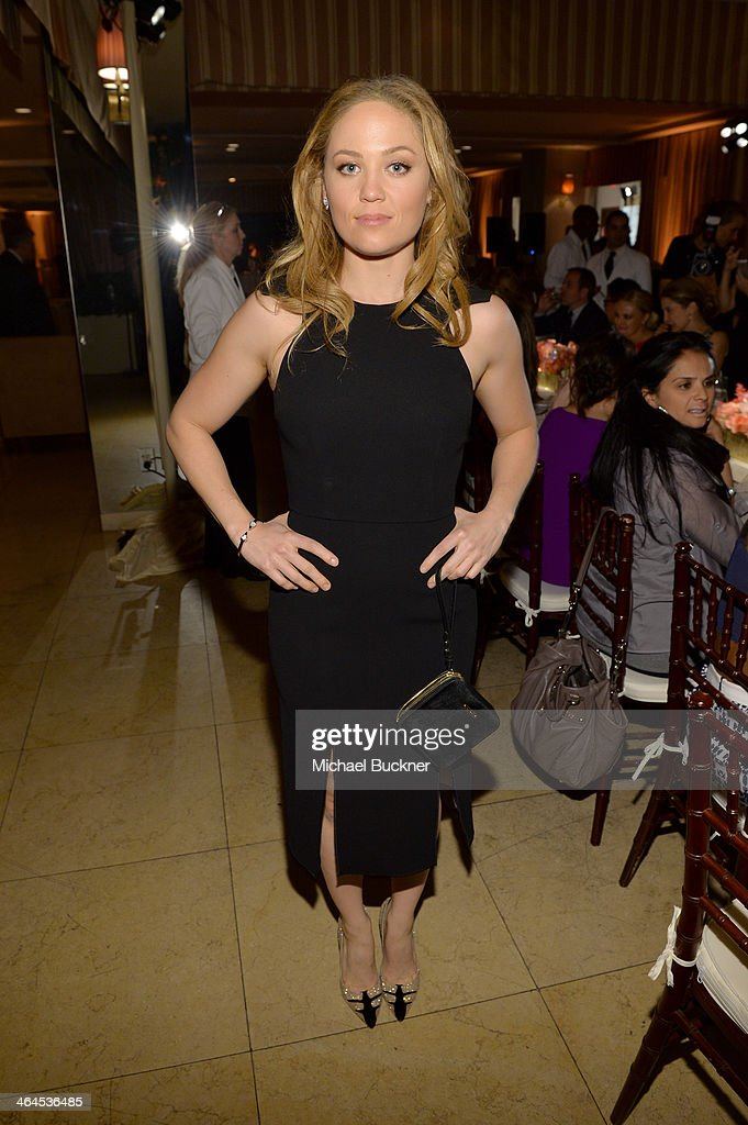 Actress <a gi-track='captionPersonalityLinkClicked' href=/galleries/search?phrase=Erika+Christensen&family=editorial&specificpeople=202168 ng-click='$event.stopPropagation()'>Erika Christensen</a> attends ELLE's Annual Women in Television Celebration on January 22, 2014 in West Hollywood, California.