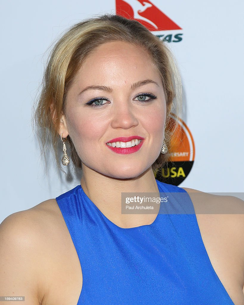 Actress Erika Christensen attends the 2013 G'Day USA Los Angeles Black Tie Gala at JW Marriott Los Angeles at L.A. LIVE on January 12, 2013 in Los Angeles, California.