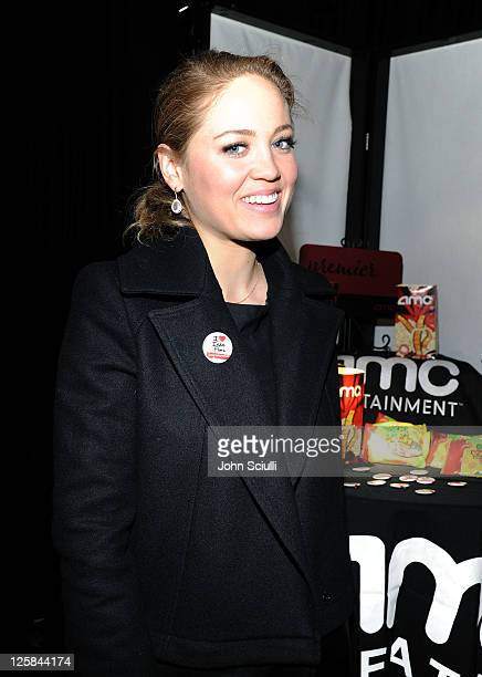 Actress Erika Christensen attends the 26th Spirit Awards official presenter gift lounge produced by On 3 Productions at Santa Monica Beach on...
