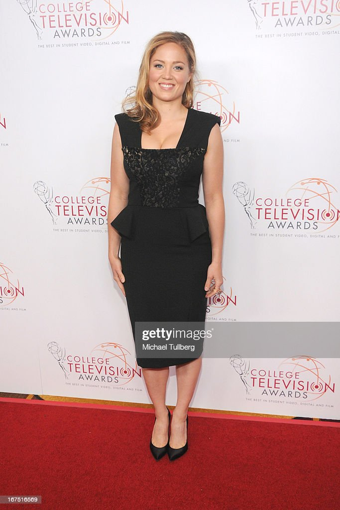Actress Erika Christensen attends the 34th College Television Awards Gala at JW Marriott Los Angeles at L.A. LIVE on April 25, 2013 in Los Angeles, California.