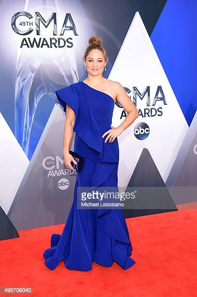 Actress Erika Christensen attends the 49th annual CMA Awards at the Bridgestone Arena on November 4 2015 in Nashville Tennessee