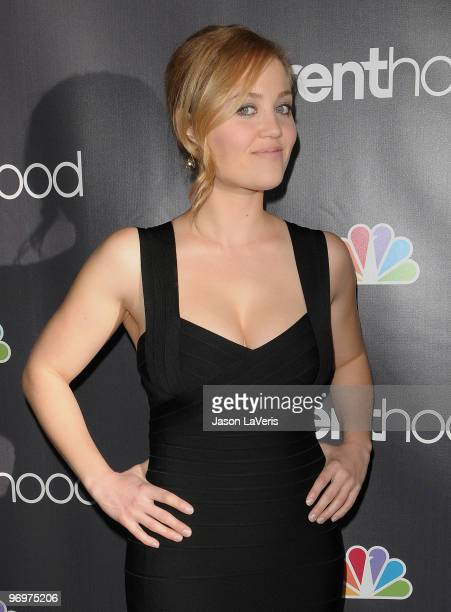 Actress Erika Christensen attends the premiere screening of NBC Universal's 'Parenthood' at the Directors Guild Theatre on February 22 2010 in West...