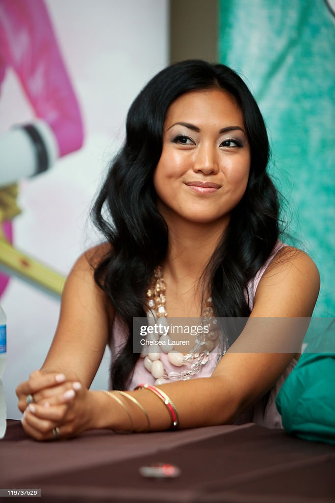 Actress Erika Fong attends a press conference for Saban's Samurai Power Rangers at the 2011 San Diego Comic-Con International on July 23, 2011 in San Diego, California.