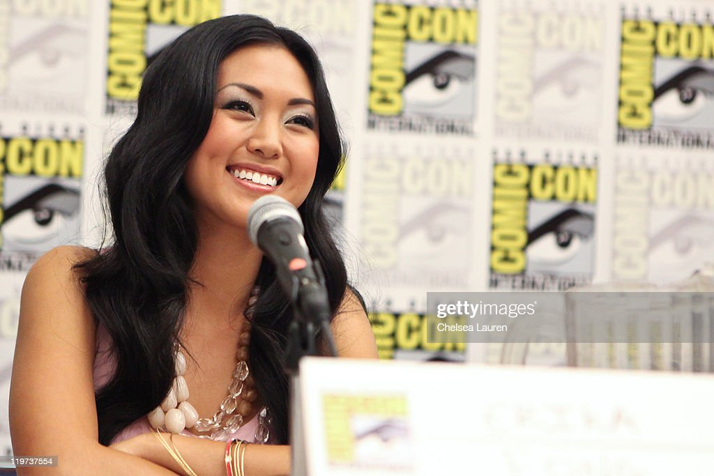 Actress Erika Fong attends Saban's Samurai Power Rangers panel at the 2011 San Diego Comic-Con International on July 23, 2011 in San Diego, California.
