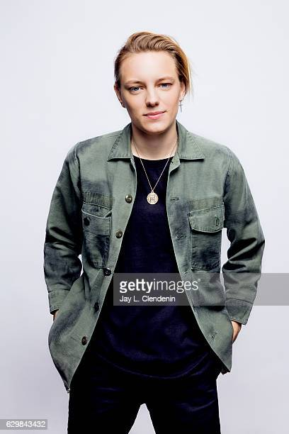 Actress Erika Linder from the film Below Her Mouth poses for a portraits at the Toronto International Film Festival for Los Angeles Times on...