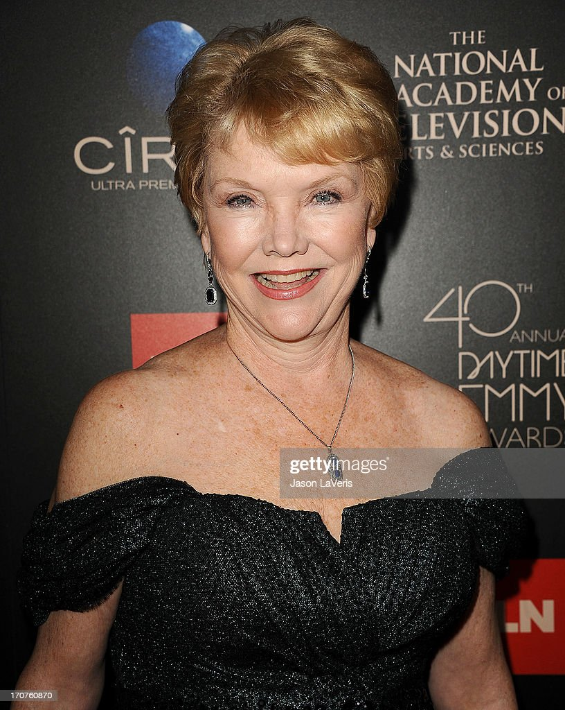 Actress Erika Slezak attends the 40th annual Daytime Emmy Awards at The Beverly Hilton Hotel on June 16, 2013 in Beverly Hills, California.