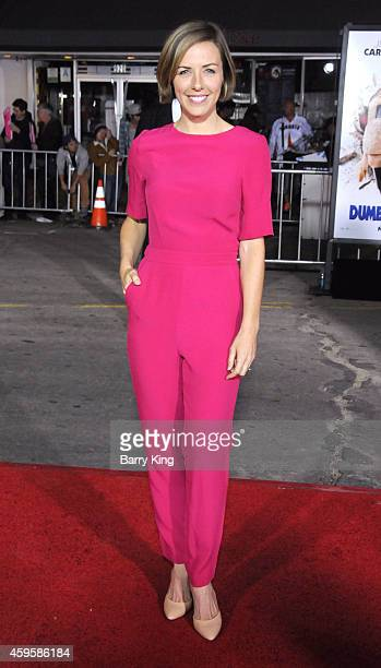 Actress Erin Allin O'Reilly arrives at the Los Angeles premiere of 'Dumb And Dumber To' held at Regency Village Theatre on November 3 2014 in...