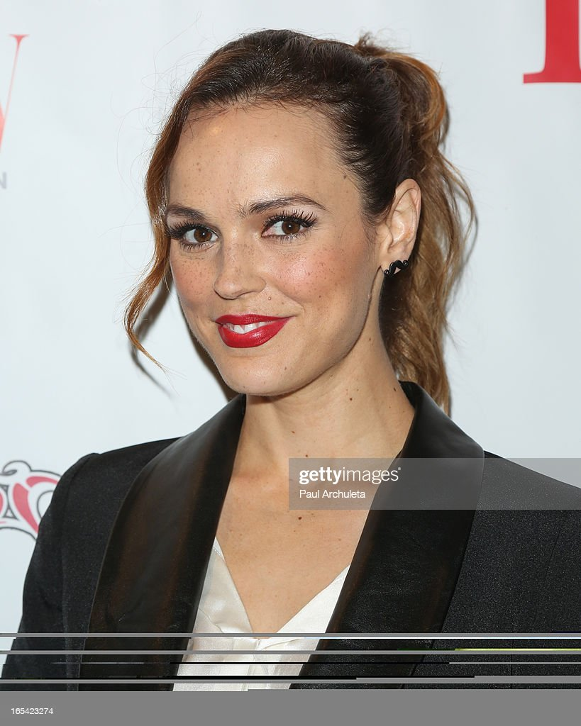 Actress Erin Cahill attends iiJin's Fall/Winter 2013 'The Love Revolution' fashion show at Avalon on April 3, 2013 in Hollywood, California.
