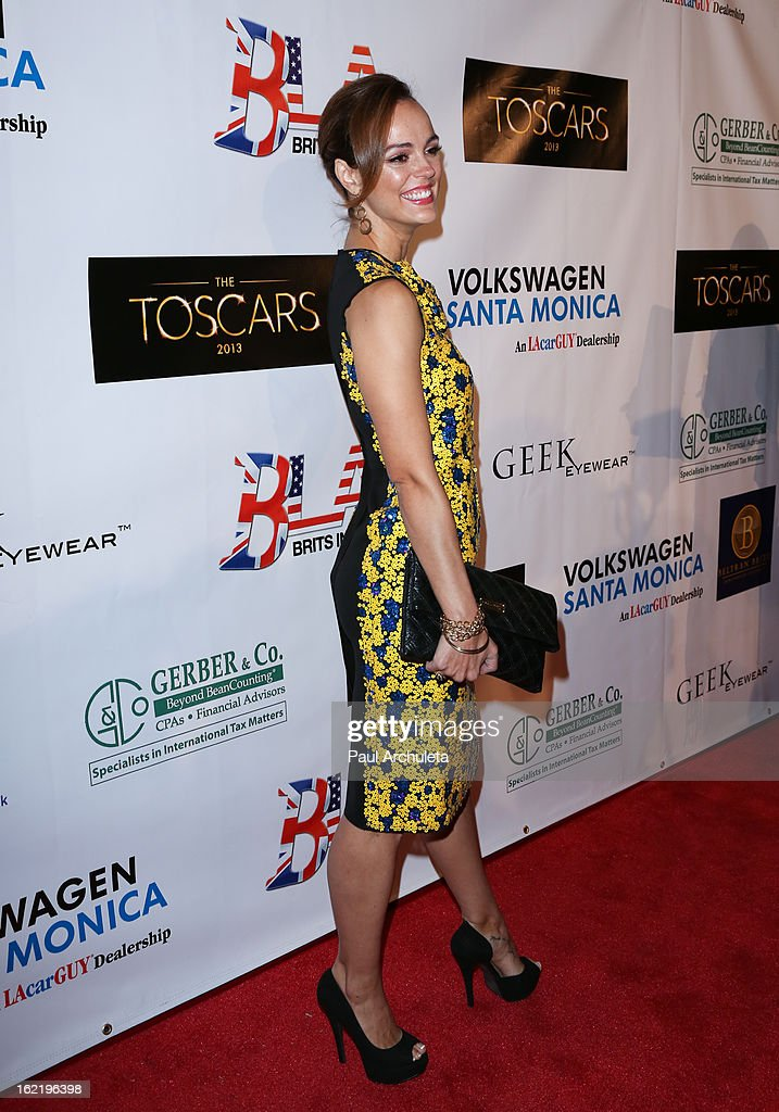 Actress Erin Cahill attends the 6th annual Toscar Awards at the Egyptian Theatre on February 19, 2013 in Hollywood, California.