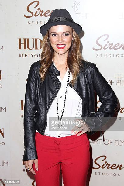 Actress Erin Cahill attends The Art Of Elysium's Genesis on September 20 2013 in Los Angeles California