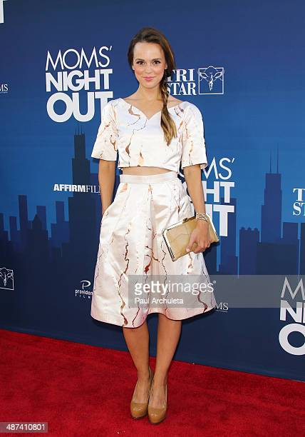 Actress Erin Cahill attends the premiere of 'Mom's Night Out' at TCL Chinese Theatre IMAX on April 29 2014 in Hollywood California