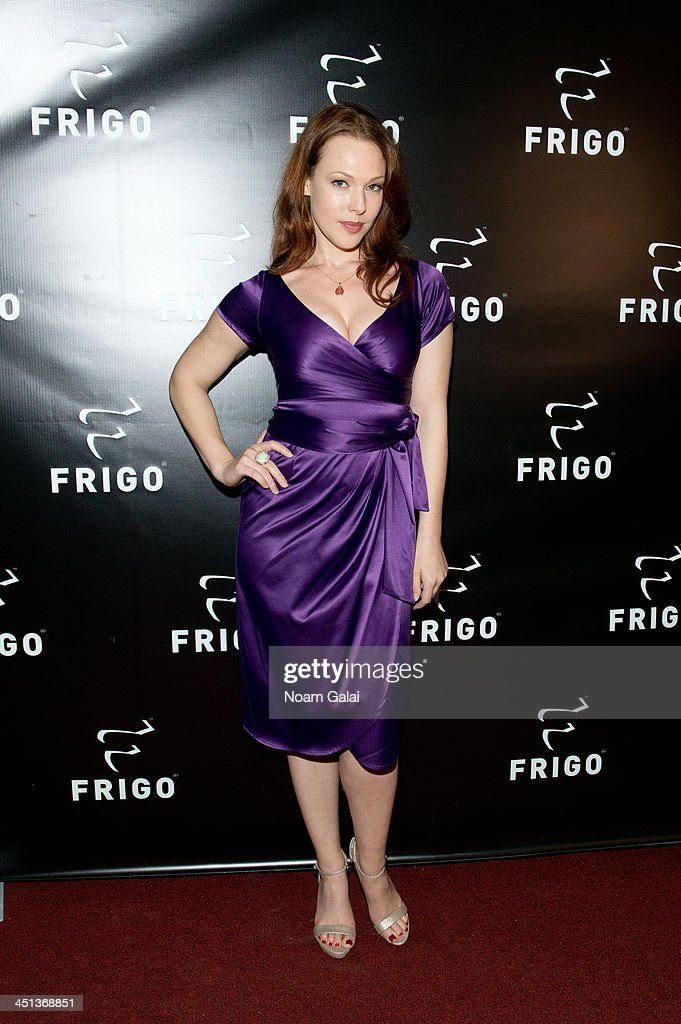 Actress Erin Cummings attends the launch party of the Frigo Pop-Up Store on November 21, 2013 in New York City.
