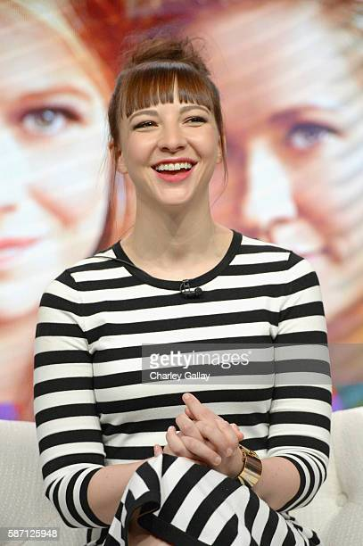 Actress Erin Darke attends the Amazon 2016 Summer TCA Press Tour at The Beverly Hilton Hotel on August 7 2016 in Beverly Hills California