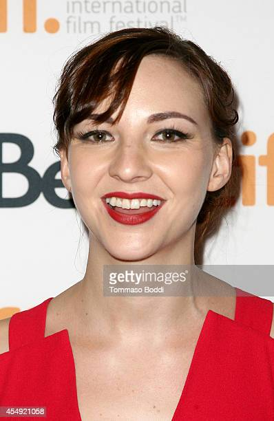 Actress Erin Darke attends the 'Love Mercy' premiere during the 2014 Toronto International Film Festival at The Elgin on September 7 2014 in Toronto...