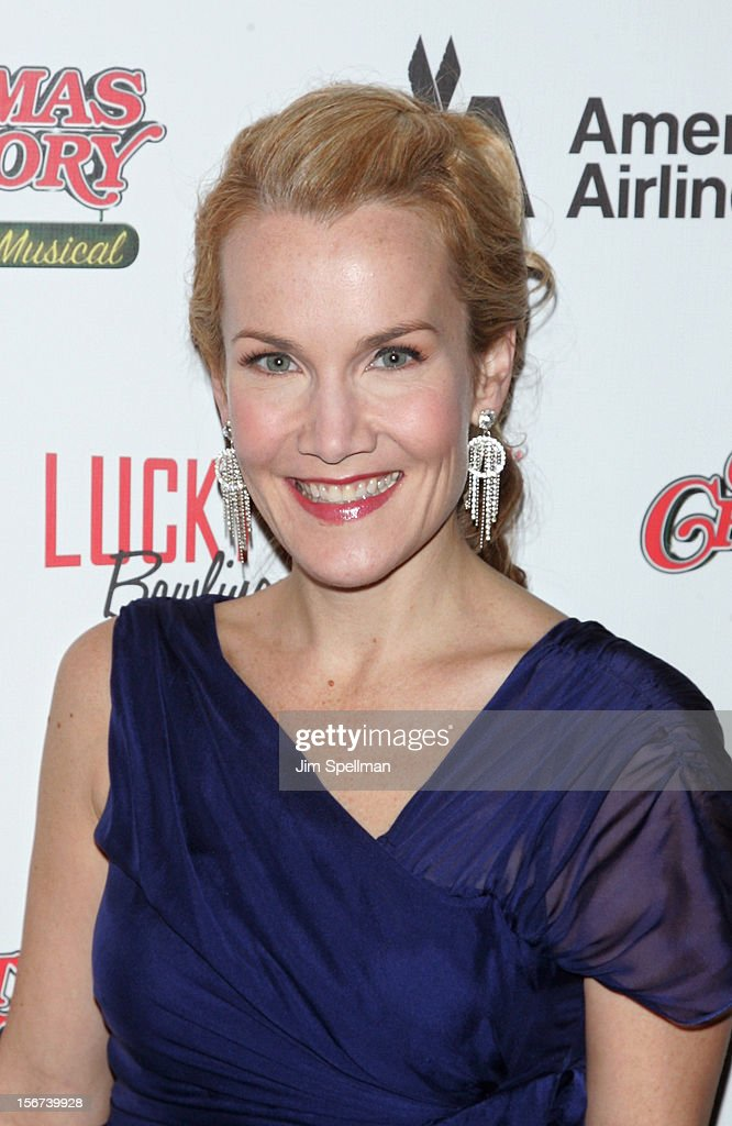 Actress Erin Dilly attends 'A Christmas Story: The Musical' Broadway opening night after party on November 19, 2012 in New York City.