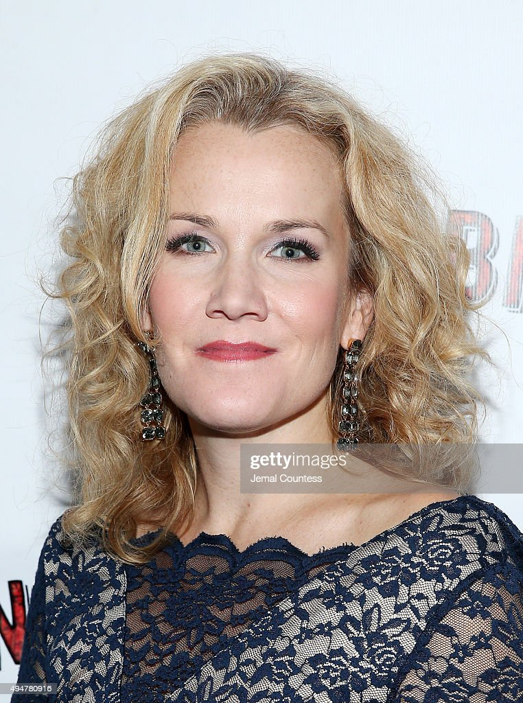 Actress Erin Dilly attends the 'Songbird' opening night after party Johnny Utah's on October 28 2015 in New York City