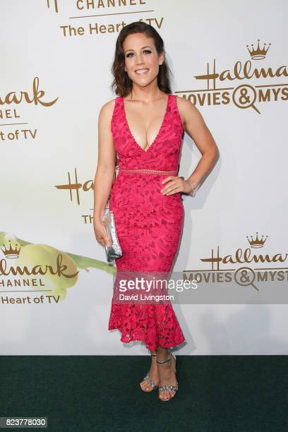 Actress Erin Krakow attends the Hallmark Channel and Hallmark Movies and Mysteries 2017 Summer TCA Tour on July 27 2017 in Beverly Hills California