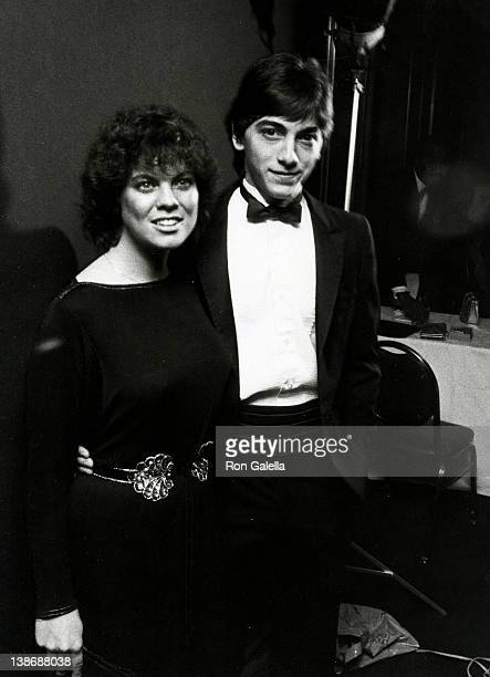 Actress Erin Moran and Scott Baio attending 1982 American Image Awards on October 25 1982 at Sheraton Center in New York City New York