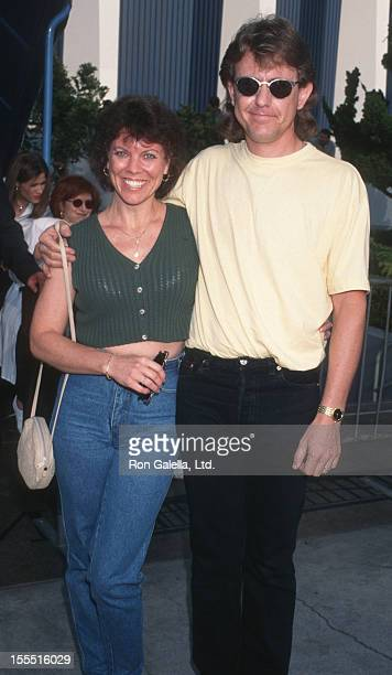 Actress Erin Moran and Steve Fleischman attend Ringling Brothers Circus Variety Club Children's Benefit on August 7 1997 at the Great Western Forum...