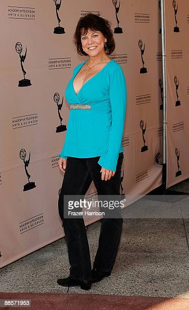 Actress Erin Moran arrives at the Academy Of Television Arts Sciences' 'Father's Day Salute To TV Dads' on June 18 2009 in North Hollywood California