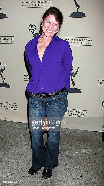Actress Erin Moran attends 'A Mother's Day Salute to TV Moms' at the Academy of Television Arts Sciences May 6 2008 in North Hollywood California