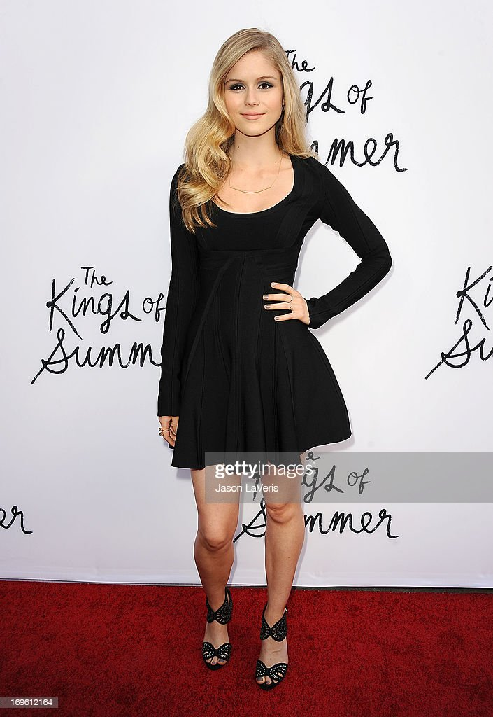 Actress Erin Moriarty attends the premiere of 'The Kings Of Summer' at ArcLight Cinemas on May 28, 2013 in Hollywood, California.