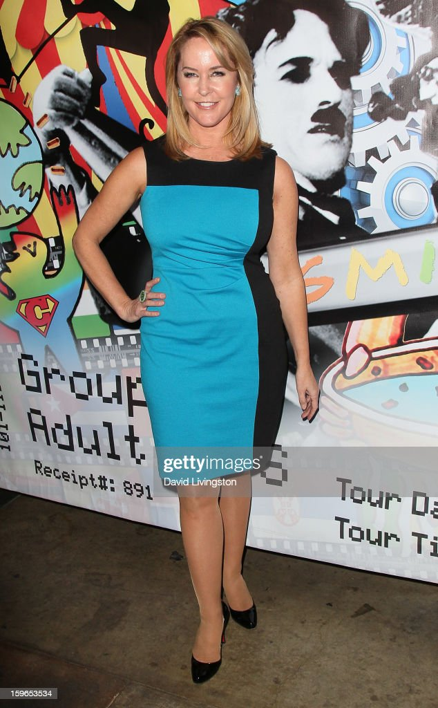 Actress Erin Murphy attends the 'Directors Series' 2nd Annual Commemorative Ticket press event presented by Red Line Tours at the Egyptian Theatre on January 17, 2013 in Hollywood, California.