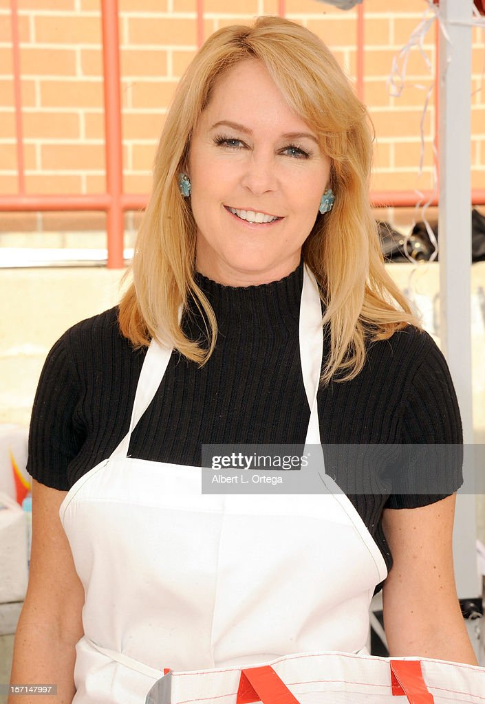 Actress Erin Murphy participates in the Hollywood Chamber of Commerce's annual police and firefighters appreciation day at the Hollywood LAPD station on November 28, 2012 in Hollywood, California.