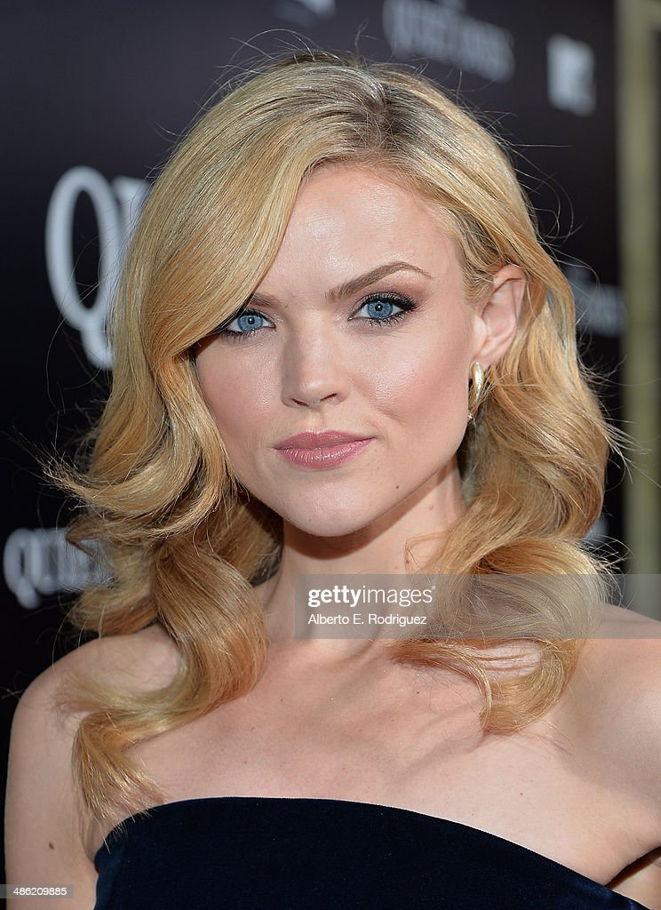 Actress <a gi-track='captionPersonalityLinkClicked' href=/galleries/search?phrase=Erin+Richards&family=editorial&specificpeople=8221042 ng-click='$event.stopPropagation()'>Erin Richards</a> arrives to the Los Angeles Premiere of Lionsgate Films' 'The Quiet Ones' at The Theatre At Ace Hotel on April 22, 2014 in Los Angeles, California.