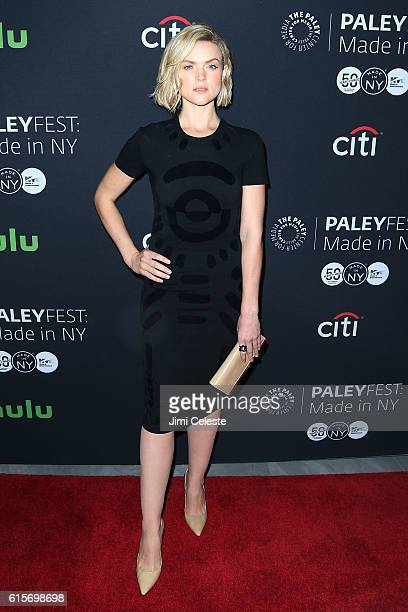 Actress Erin Richards attends PaleyFest New York 2016 'Gotham' at The Paley Center for Media on October 19 2016 in New York City